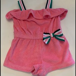 Janie and Jack Terrycloth Romper